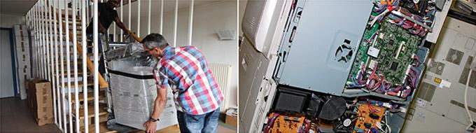 Espace Bureautique entretien, répare et dépanne vos copieurs, photocopieurs, MFP dans le Doubs