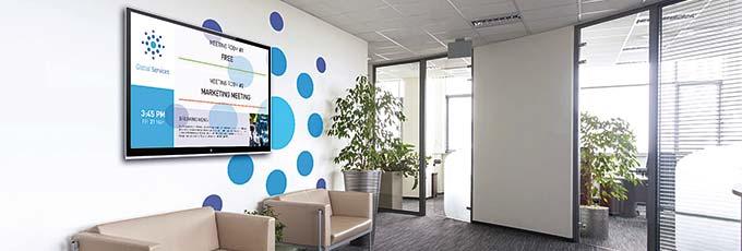 Espace Bureautique propose des solutions d'affichage dynamique